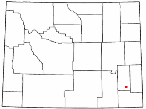 Location Of Chugwater Wyoming