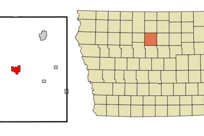 Location Of Clarion Iowa