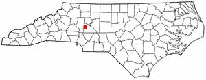Location Of Cleveland North Carolina