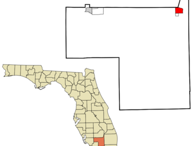 Location In Hendry County And The State Of Florida