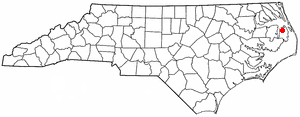 Location Of Columbia North Carolina