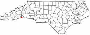Location Of Columbus North Carolina