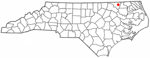 Location Of Conway North Carolina