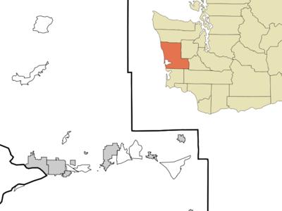Location Of Copalis Beach Washington
