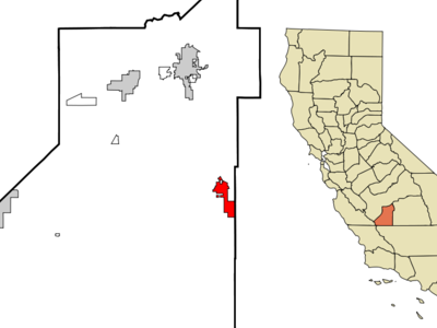 Location In Kings County And The State Of California
