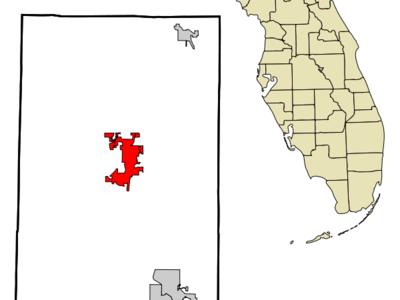 Location In Okaloosa County And The State Of Florida