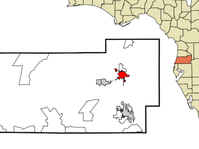 Location In Pasco County And The State Of Florida