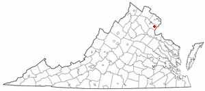 Location Of Dale City Virginia