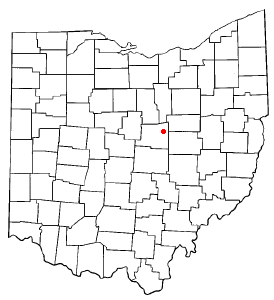Location Of Danville Ohio