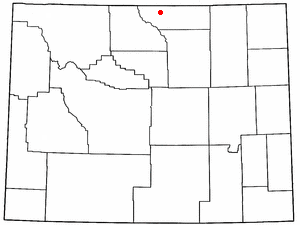 Location Of Dayton Wyoming