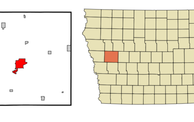 Location Of Denison Iowa
