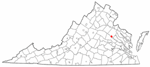 Location Of Doswell Virginia