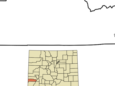 Location In Dolores County And The State Of Colorado
