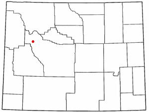 Location Of Dubois Wyoming