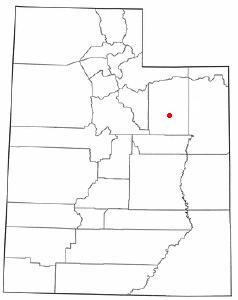 Location Of Duchesne Utah