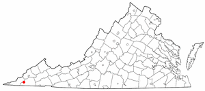 Location Of Duffield Virginia