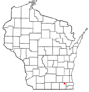 Location Of East Troy Wisconsin