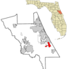 Location In Volusia County And The State Of Florida