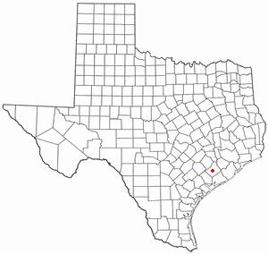 Location Of El Campo Texas