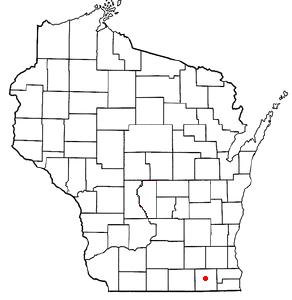 Location Of Elkhorn Wisconsin