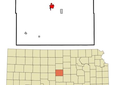 Location Of Ellsworth Kansas