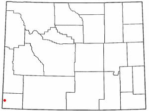 Location Of Evanston Wyoming