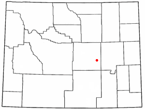 Location Of Evansville Wyoming