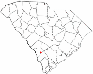Location Of Fairfax South Carolina
