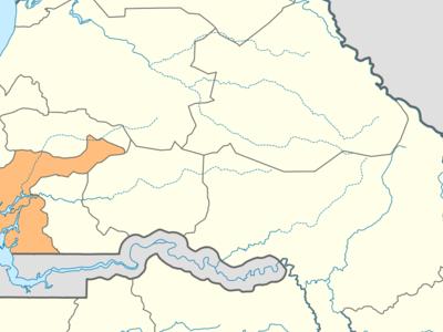 Location Of Fatick In Senegal