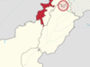 Location Of The Federally Administered Tribal Areas