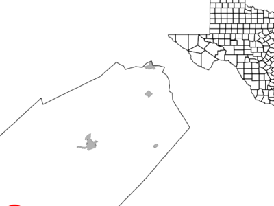 Location Of Flatonia Texas
