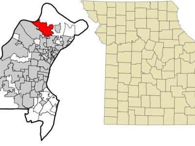 Location Of Florissant Missouri
