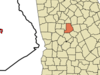Location In Monroe County And The State Of Georgia
