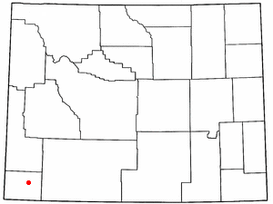Location Of Fort Bridger Wyoming