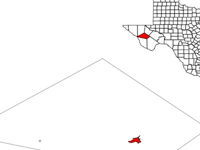Location Of Fort Davis Texas