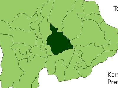 Location Of Fuefuki In Yamanashi