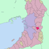 Location Of Fujiidera In Osaka