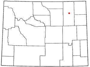 Location Of Gillette Wyoming