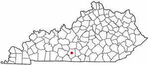 Location Of Glasgow Kentucky