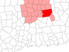 Location Of Glastonbury In Hartford County Connecticut
