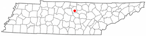 Location Of Gordonsville Tennessee