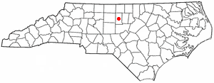 Location Of Graham North Carolina