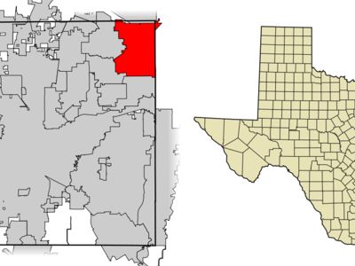 Location Of Grapevine In Tarrant County Texas
