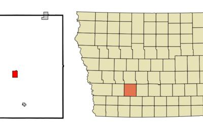 Location Of Greenfield Iowa