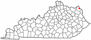Location Of Greenup Kentucky