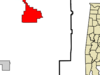 Location In Butler County And The State Of Alabama