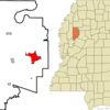 Location Of Greenwood Mississippi