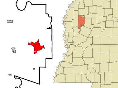 Location Of Greenwood Mississippi