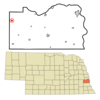 Location Of Greenwood Nebraska
