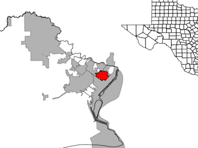 Location Of Groves Texas